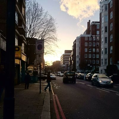Notting like a lovely walk with the sunset, exploring places 👌 Nofilter Edgware Edgwareroad Sunset