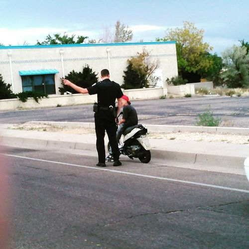 Busted by APD