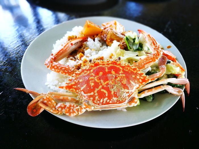 EyeEm Selects Food Seafood Plate No People Crab - Seafood Food And Drink Ready-to-eat Healthy Eating Gourmet Indoors  Freshness Close-up Day Malaysia Delicious Food Stories