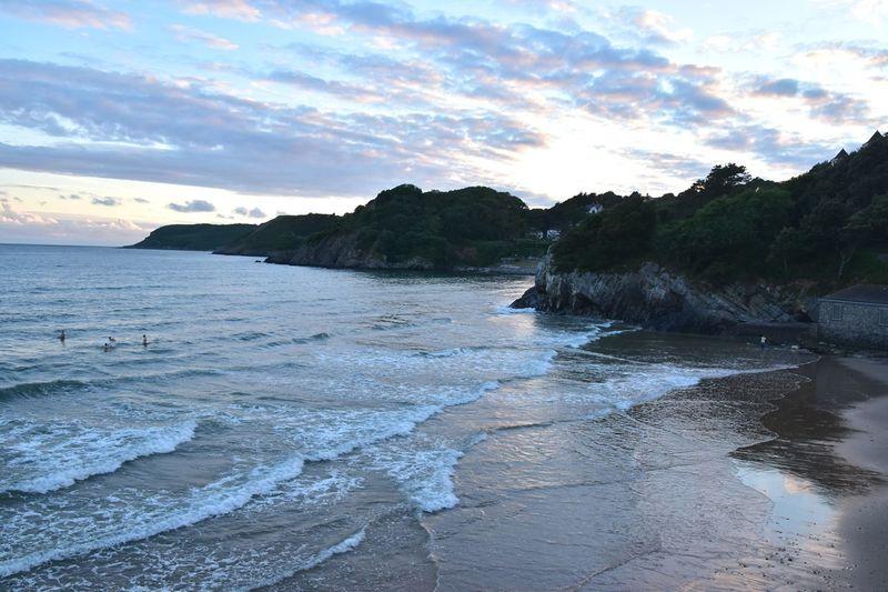 Taking Photos Sunset Seaside Vacations Nikon D5500