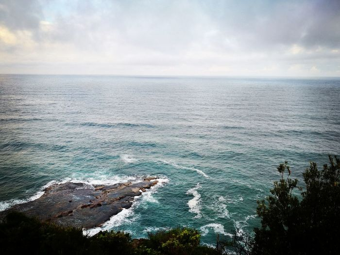 Clouds And Sky Cloud Beauty In Nature Beauty Plants Day Ocean Australia Great Drive Water Wave Sea Low Tide Sand Sunlight Reflection High Angle View Tide Seascape Coastal Feature Rocky Coastline Rugged Crashing Coastline Horizon Over Water Rushing Cliff Coast Storm Cloud Headland