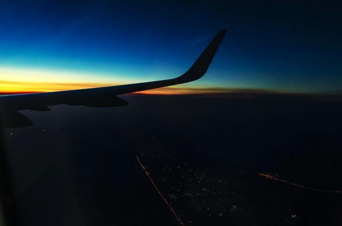 ASA Aviation Avião Airplane Sunset Voar CeuAzul Sky Nikon Brazil