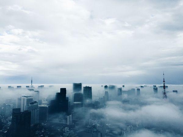 霧が晴れて見えた景色が素敵でした EyeEm Best Shots Taking Photos Vscocam VSCO Sky Tokyo Sky And Clouds EyeEm Bestsellers Market Bestsellers Feb 2016 Market Bestsellers April 2016 Bestsellers Market Bestsellers October 2016