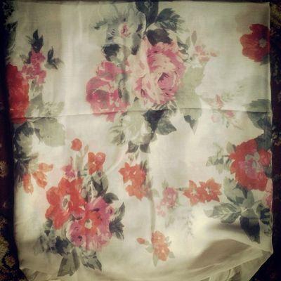 Mein neuer Schal♥ Springtime Flowers White H &m fallinginlove cute