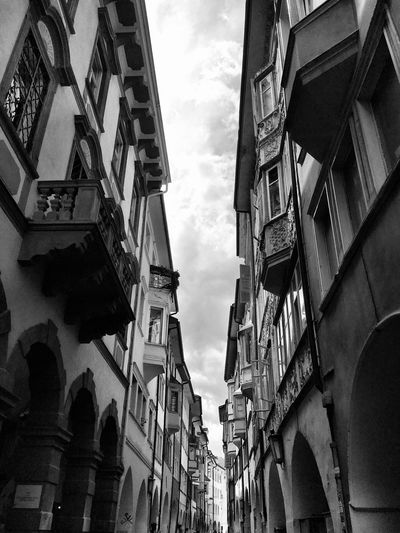 Building faces Built Structure Building Exterior Architecture Low Angle View Building Sky Day Cloud - Sky City No People Outdoors Residential District Travel Destinations History