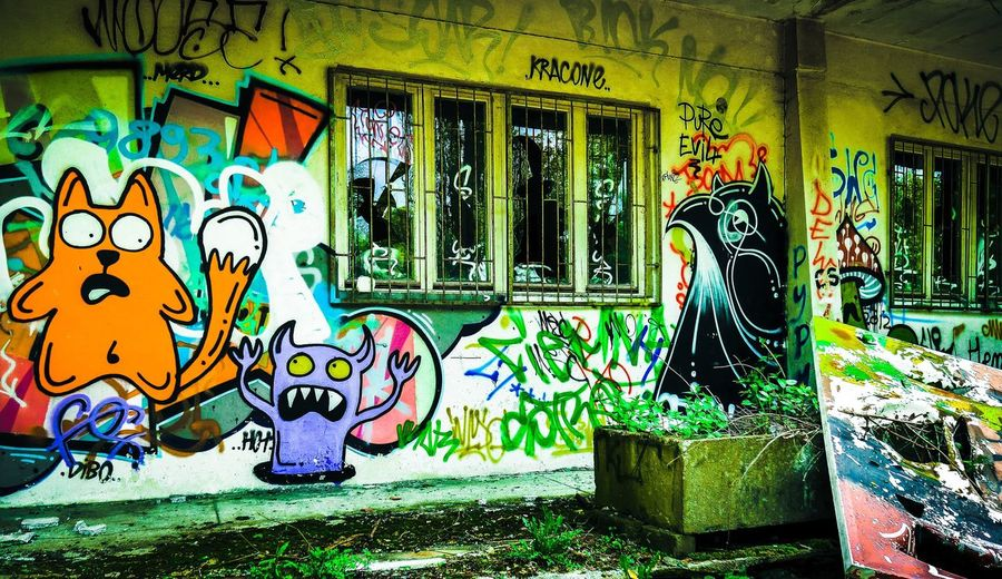 Fullcolor/Crazy/color Wrzuty Bomby Graffiti Art Warsaw Poland SMOKE WEED EVERYDAY Panasonicgx7 Tripday