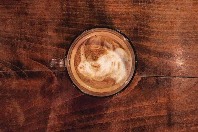 Coffeekesh-My Work Coffeekesh Dadbeh Coffeekesh Konjcafe Cafe Coffee Latte Latteart Painting Sketch Art ArtWork Espresso Rhino
