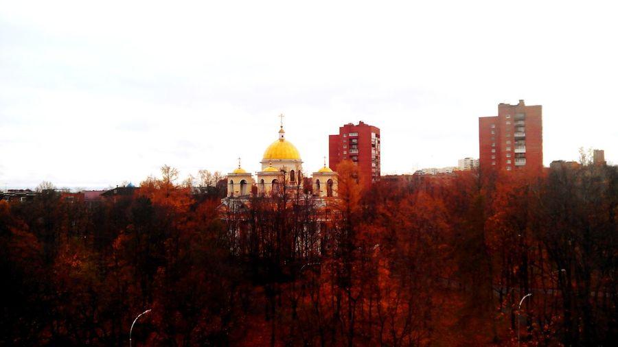Петрозаводск осень храм Александра Невского Petrozavodsk Autumn Colors Autumn Church