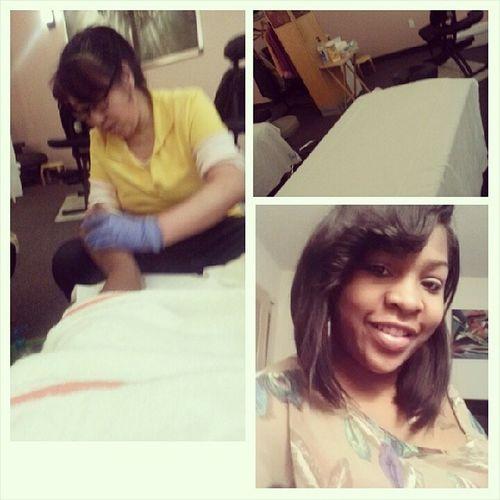 Full Body Massage Fun! MybodyFeelNew Queen I'm sleepy now @____shedidthat