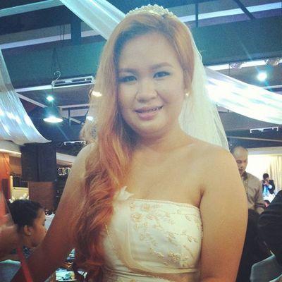 Blooming bride! 😍💜🚺🍻🎉🎎Wedding Letscelebrate Forever DADA & EN-EN