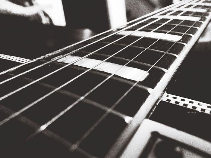 Guitar Guitar Strings Music Rock Blackandwhite Sing Play Guitarist Practicing Pick Instruments Hanging Out Enjoying Life Taking Photos Photography
