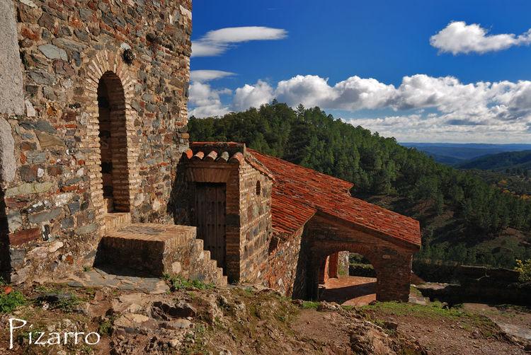 Architecture Nature Almonaster Huelva España Paisaje Cielo