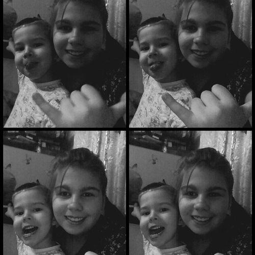 С младшим братиком Яриком ))