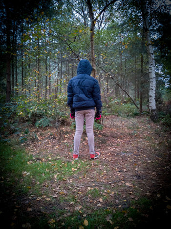 wood alone Wood Standing Boy Coat Woods Forest Honor 10 United Kingdom Arts Culture And Entertainment ArtWork Art is Everywhere Woods