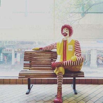 我們的90年代. Canton Guangzhou McDonald Mcdonalds city
