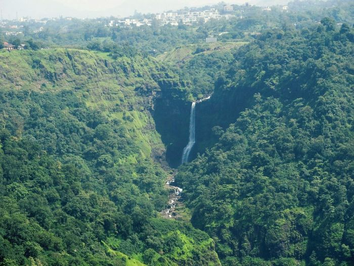 The Great Outdoors With Adobe Great Outdoors - 2016 EyeEm Awards Nature Waterfall Hills Valley Lonavla Distant View Distant Lands Distant Waterfalls Distant City