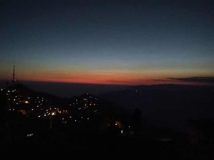 Photo of the day Photoofsuntheday Sunset PhonePhotography Sky Shillouette