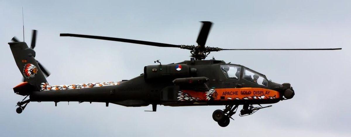 Apache Helicopter Demo Team Apache Helicopter Klu Nederlandse Luchtmacht