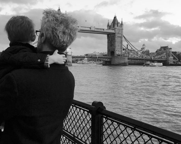 Tower Bridge  Daddy And Son
