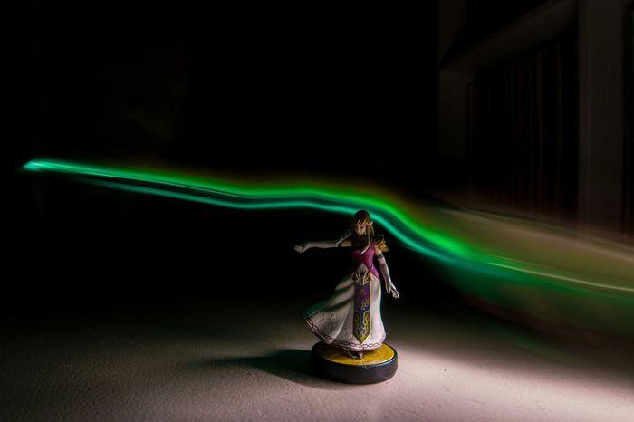 Darkness And Light Zelda Nintendo Ocarina Of Time Long Exposure Hyrule The Legend Of Zelda Toys Figurine  Video Games