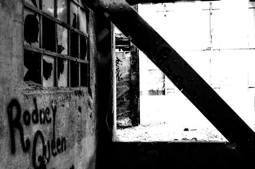 Architecture Architecture Architecture_collection Black & White Black And White Black And White Collection  Black And White Photography Black&white Blackandwhite Blackandwhite Photography Blackandwhitephotography Building Building Exterior Built Structure Damaged Geometric Shapes No People Urbanexploration Urbex Urbexphotography Wall - Building Feature Window