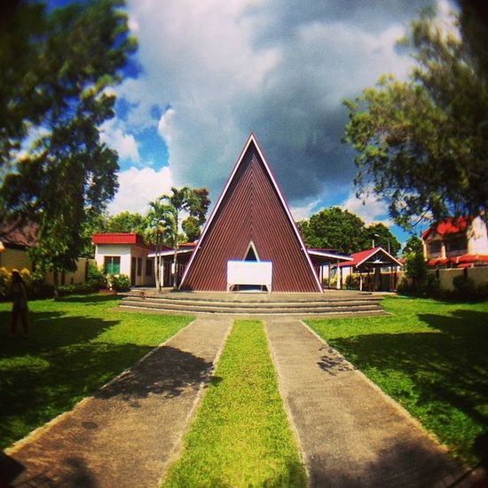 96/365 one of a kind church in la carlota 365 Pasalamat2014 Cenyfu