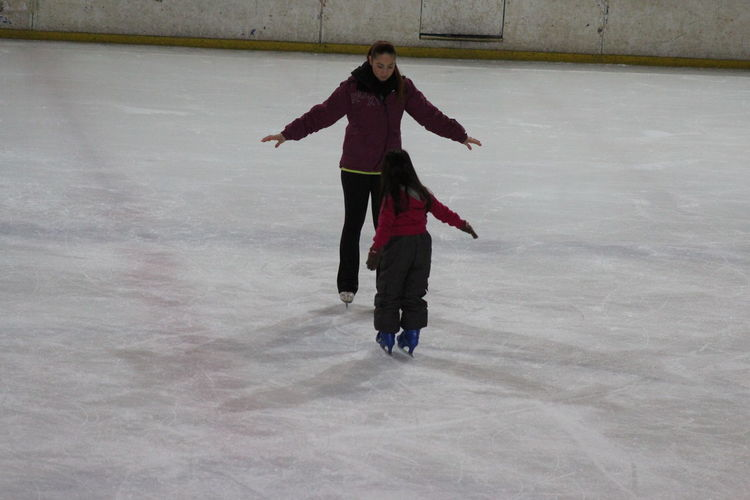 Ice Skate Teach Happy Child Cute Olimpic Stadium my Friend No Edit/no Filter Eyem Gallery First Eyeem Photo Canon Eos 1200d SK Fotografii😊 Winter Cold Temperature One Person Full Length People One Young Woman Only Only Women One Woman Only Day Warm Clothing Outdoors Adults Only Young Adult