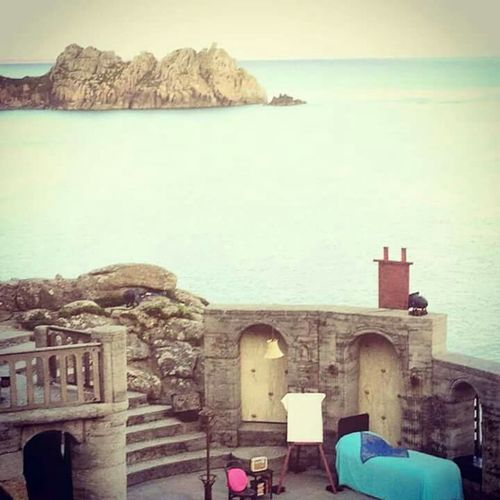 The view from Minack theatre in Cornwall. September 2015 Summer2015 Cornwall Uk Theatre With A View Mobilephotography
