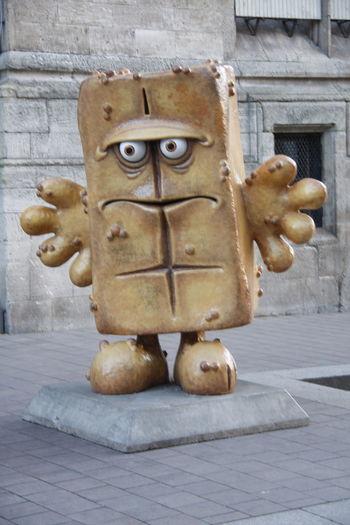 EyeEm Selects Erfurt Outdoors Bernd Das Brot Bernd Das Brot :) Sculpture Statue No People Day
