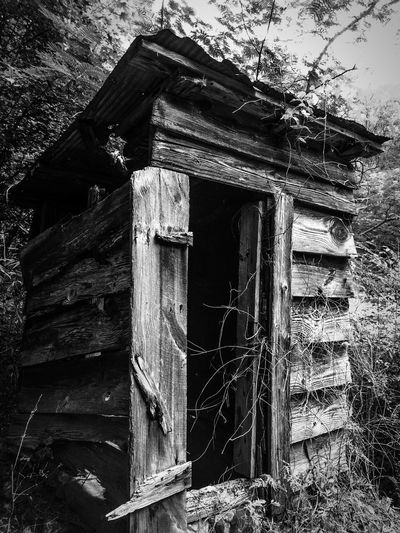 Outhouse at a golf course in Georgia Golf Outdoors Relaxing Relaxation Taking Photos Antique Barn Old Old Buildings High Contrast Blackandwhite Black And White Blackandwhite Photography Instagood Bestoftheday Eye4photography  EyeEm Best Shots IPhoneography Instalike Instamood Blinds Walking On The Beach Couple Welcome To Black