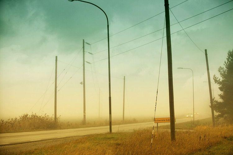 Misty morning Eskilstuna Landscape Misty Morning