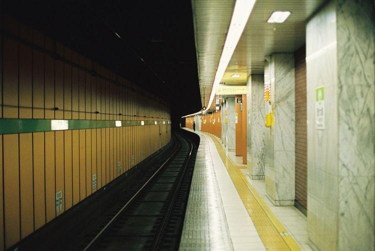 Autumn Film Photography Filmisnotdead Japan Japan Photography Mrt Tokyo Tokyo Street Photography Tokyo Subway Train
