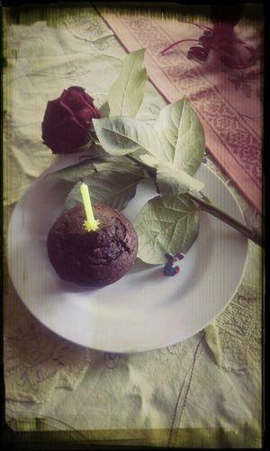 Rosé Birthday Cake Enjoying Life Red Rose