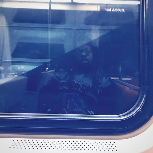 This Was A Step In 2016 ! Finally I Found the Inspiration For A New Metro Window Reflection ! I Love ♥ Doing This And It's In Blue