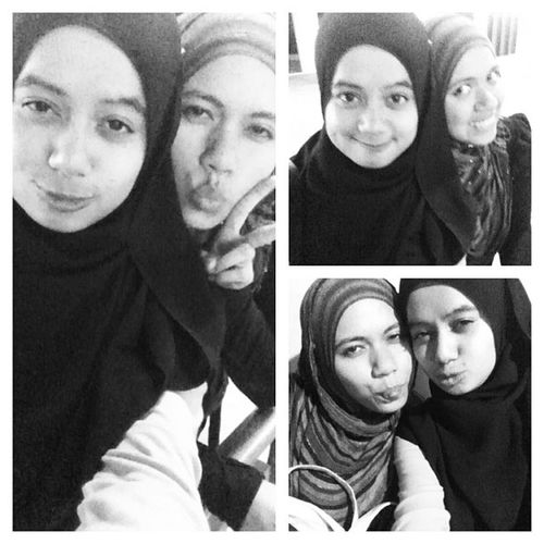 I am glad i meet you and i love you @nisabuck ! Hewhew Mulutmanis