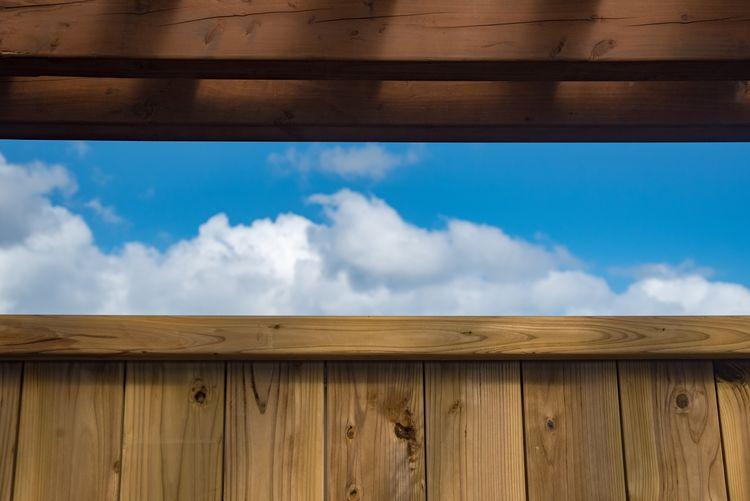Cloud - Sky Sky Wood - Material No People Day Nature Indoors  Close-up