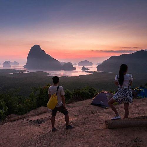 เสพติดแสงเช้า Lumixgx8 TheGreatOutdoors Ngthainaturecalling Travelthailand Reviewthailand Phangnga Sunrise Thetrippacker Naturelovers Getoutside Loves_siam Sametnangshe Travel Sheadventures Igers Ig_masterpiece Lumixnz Thailive