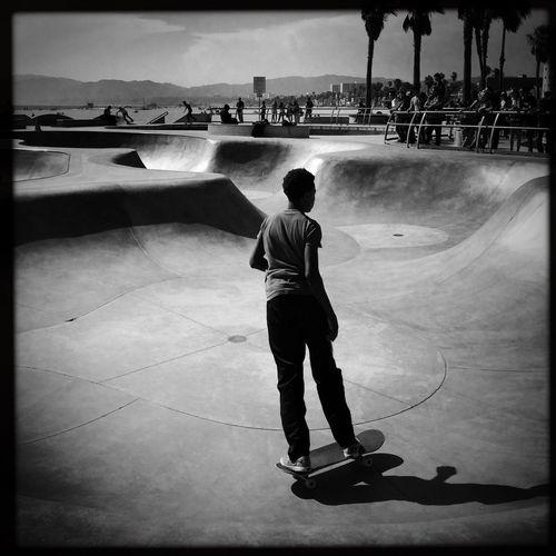 Venice Beach EEA3-Santa Monica / Venice Beach NEM Street Huffington Post Stories NEM Black&white The Street Photographer - 2015 EyeEm Awards EEA3