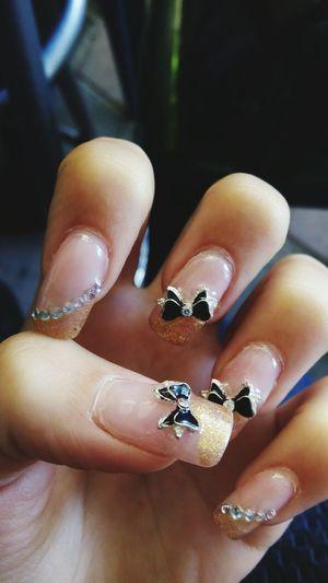 Ribbons Nails Art Beautiful Nails❤💋