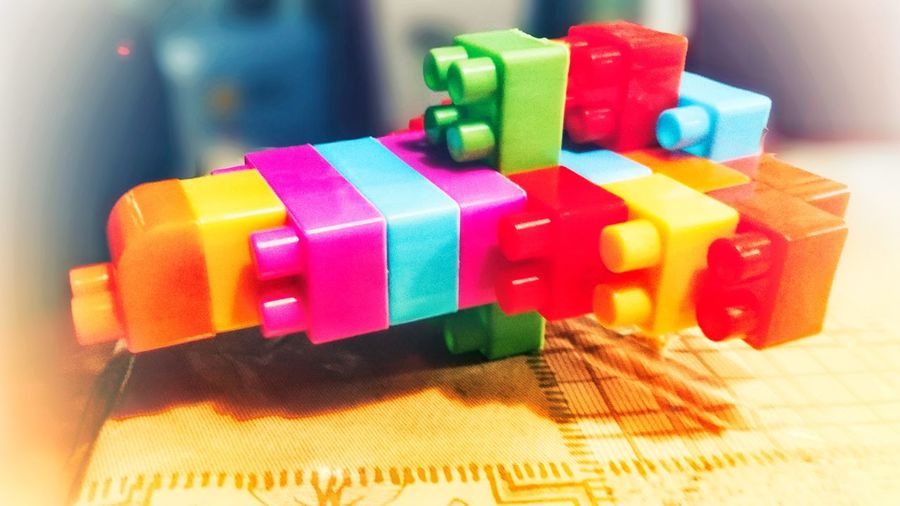 LEGO BUILDER Multi Colored Variation Childplay Toy Lego