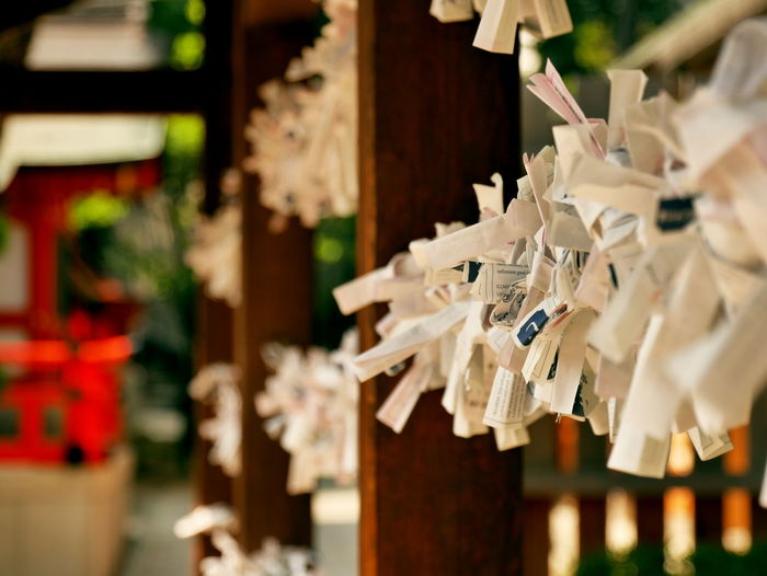 No People Close-up Day Indoors  Japan A Shinto Shrine Jinja Omikuji EyeEmNewHere The Week On EyeEm