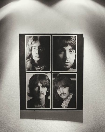 Beatles Music 60s England Legend Best  Paul McCartney George Harrison John Lennon Ringo Starr History Wall Blackandwhite Picture