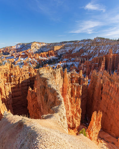 Bryce canyon national park, Utah, USA USA Utah Beauty In Nature Bryce Canyon National Park Eroded Geology Landscape Outdoors Rock Rock Formation Scenics - Nature Sky Travel Destinations