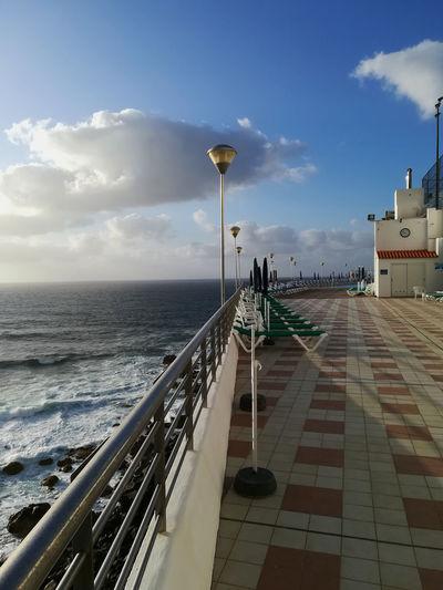 Bajamar Bajamar, Tenerife Architecture Bajamexico Built Structure Cloud - Sky Club Horizon Over Water No People Sea Sky Water