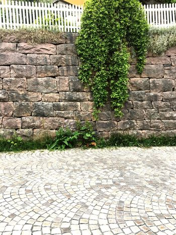 Outdoors Nature Green Color Stone Material