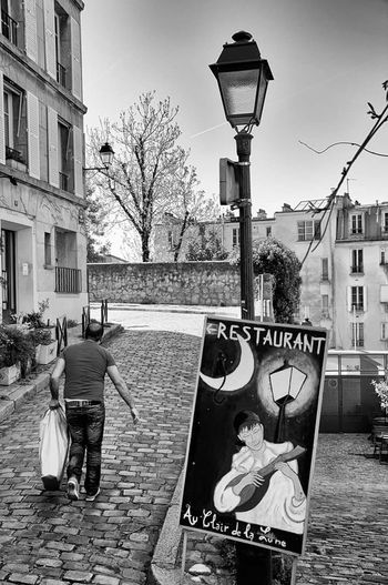 Streetphotography Streetphoto_bw Man Showcasemay The Week On Eyem Montmartre
