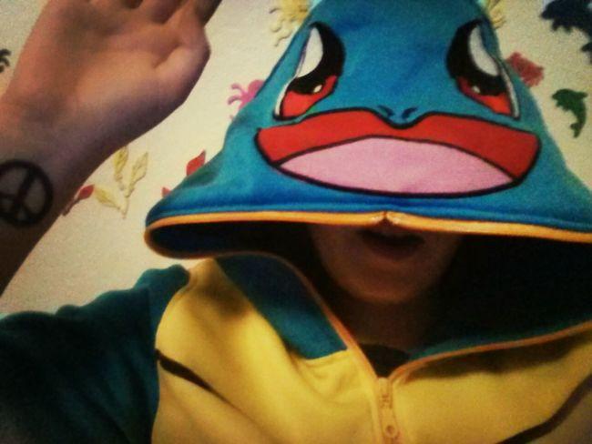 Pokemon♥♥♥♥ Pokemon. Pokemon! my new squirtle hoodie