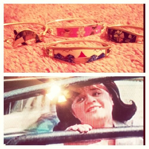 Hairspray & bracelets from Mexico