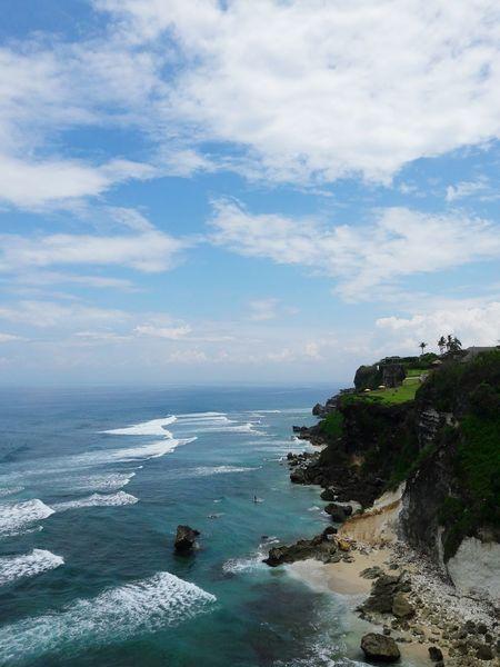 Beach Waves Ocean Nature Photography Beach Time Uluwatu Beach Bali, Indonesia Beachday Hill Views EyeEmNewHere