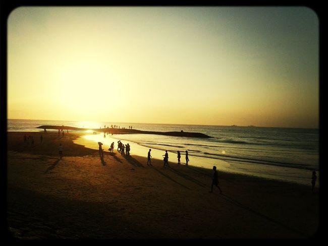 Sunset Pantai Kuta (Kuta Beach) Life Is A Beach